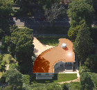 Tough, suave and irresistibly good looking, Rhepanol decorative copper coating was the perfect finish for the membrane roof of a super spy-inspired, award-winning home