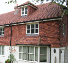 Tudor, hanging and traditional nibbed tiles