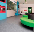 Classic Mystique PUR was installed in the reception area of the FirstCare Practice in Hounslow