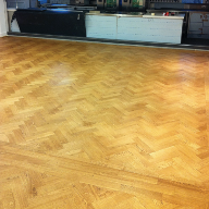 Eazy Fit Parquet Herirngbone in the Cordon Bleu School of Cookery London