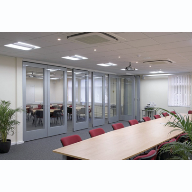GS100 Double Glazed Moving Wall