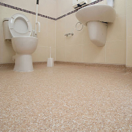 Slip-resistant safety flooring