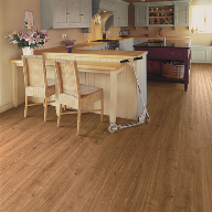 Polyflor Flexible Floor Tiles/Sheets: residential and commercial Country Oak Kitchen