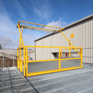 Swing Arm Pallet Gate