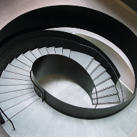 ogier helical commercial staircase