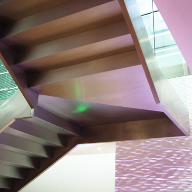 stainless steel folded staircase