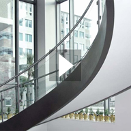 Video of helical staircase & exterior canopy installation, Bermuda