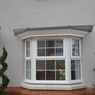 GRP Bay Window Roof Canopies: Design Freedom