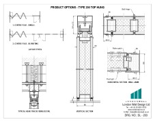 SL-203 Product options - Type 200 Top hung