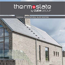 Thermoslate: Thermal Solar Natural Slate Roofing