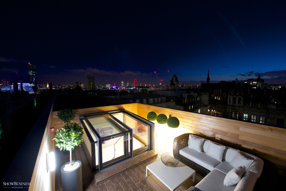 Rooflights for luxury residential development
