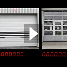 Comparison EFAFLEX vs slow door
