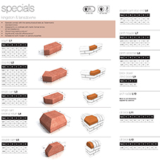 Tobermore facing brick specials