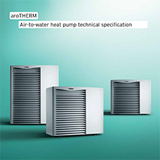 aroTHERM Air-to-water heat pump technical specification