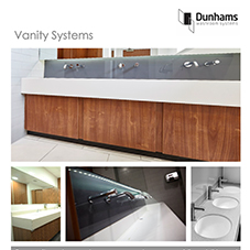 Commercial washrooms - Vanity Systems