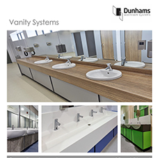 Education washrooms - Vanity Systems