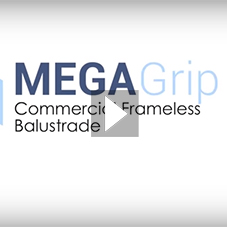 MEGA-Grip 3kN Adjustable Commercial Balustrade