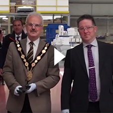 Lisburn Mayor Visits ASSA ABLOY Security Doors