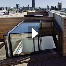 Box Access Rooflight Installations