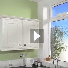 Solar powered automatic window control - kitchen