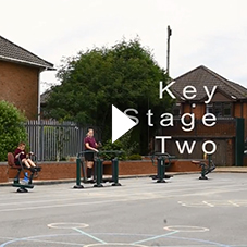 Key Stage 2 Outdoor Fitness Equipment - Hillside Primary School | Sunshine Gym