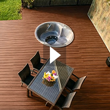 Recycled Plastic Kedeck Decking from Kedel Limited