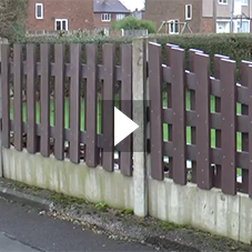 Recycled Plastic Fencing - A Housing Association Case Study