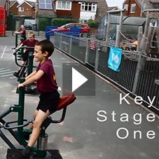 Key Stage 1 Outdoor Fitness Equipment - Hillside Primary School | Sunshine Gym