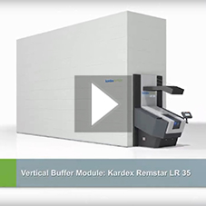 Vertical Buffer Module Kardex Remstar LR 35 - Higher picking performance