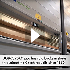 Dobrovský: stored books in maximum available height