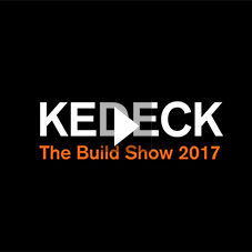 Kedel Ltd: KEDECK Recycled Plastic Decking at The Build Show 2017