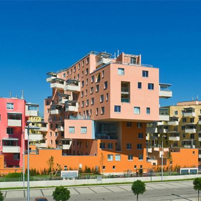Schöck Isokorb® insulates apartments in Vienna
