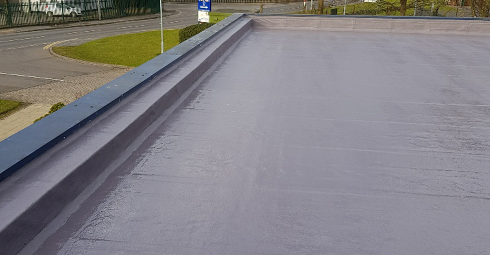 Polyroof's Protec system for Vodafone's Brunel House