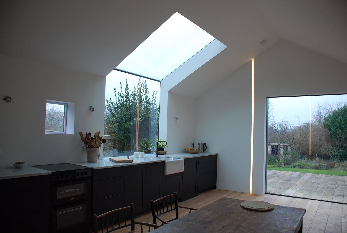 Award-winning property extension conversion features Glass Structures