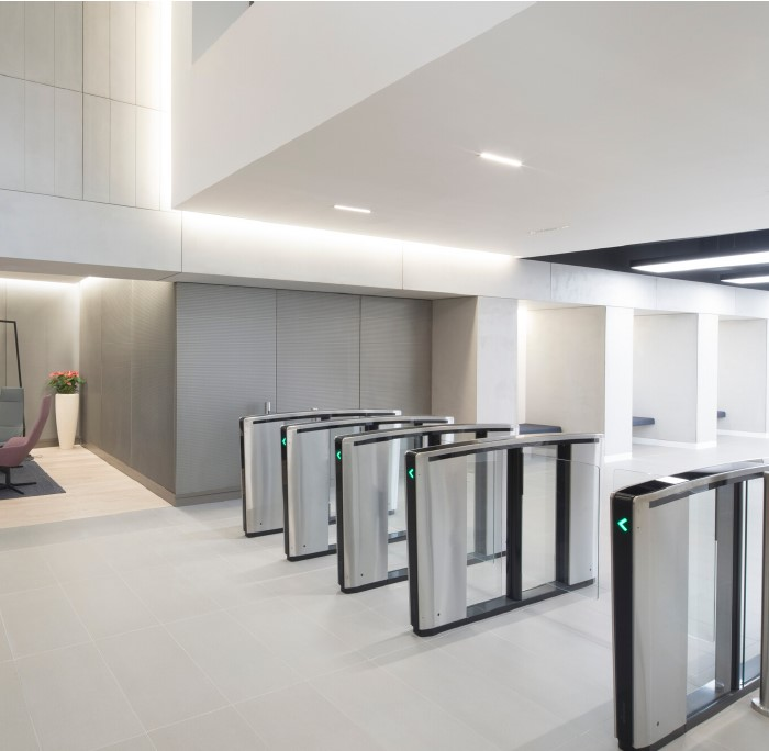 Office renovation chooses Boon Edam for an access control solution