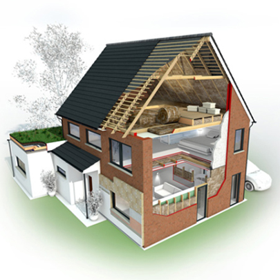 Knauf insulation hits the road with the energy efficiency for Home insulation products