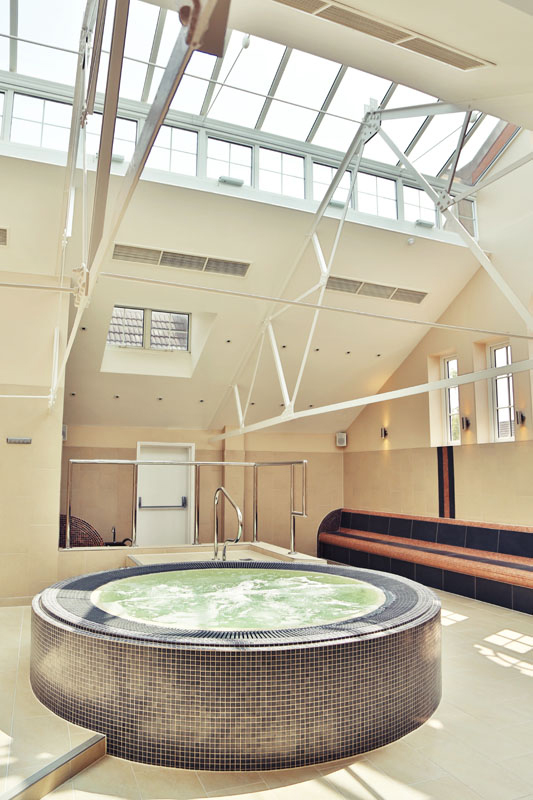 Thermal suite centrepiece for Wimbledon Leisure Centre