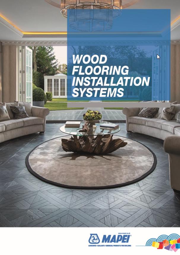 New Mapei Wood Flooring Brochure